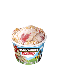 Strawberry Cheesecake Original Ice Cream Mini Cup