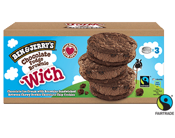 Chocolate Fudge Brownie 'Wich Multipack Wich Ice Cream Bar