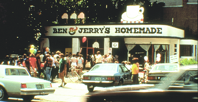 Ben & Jerry's first Free Cone Day, 1979