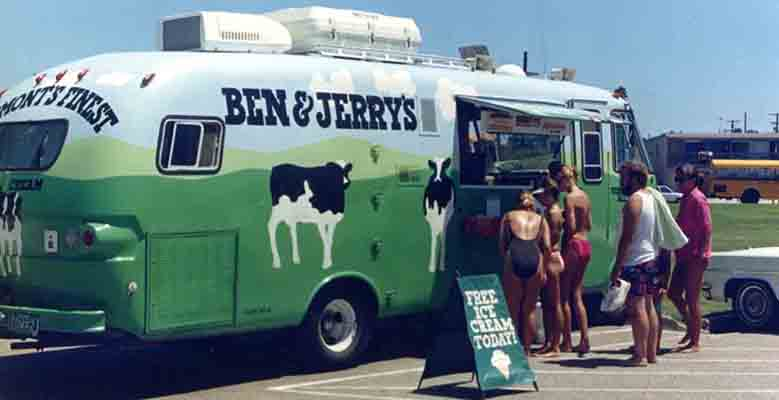 Ben & Jerry's Cowmobile