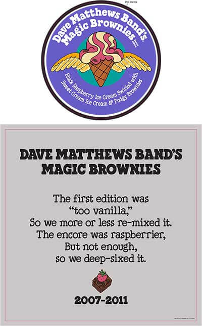 Dave Matthews Band Magic Brownies