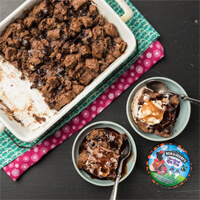 Recept: Chocoladebroodpudding